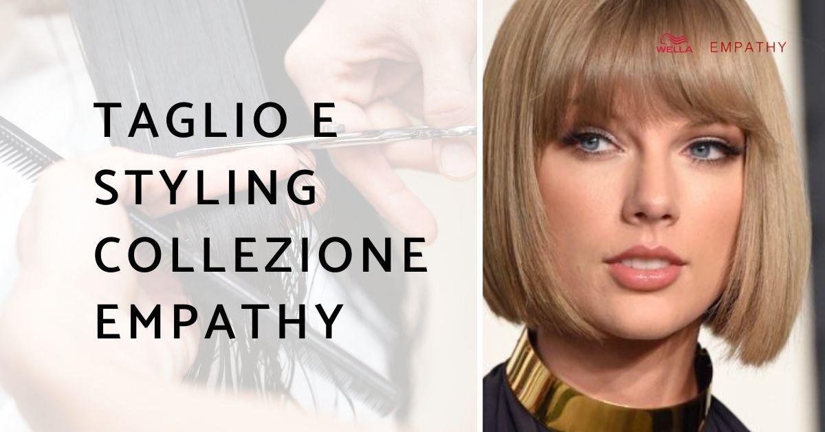 Taglio e styling collezione moda parrucchieri Empathy