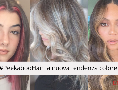 Peekaboo Hair la nuova tendenza colore Primavera/Estate 2021